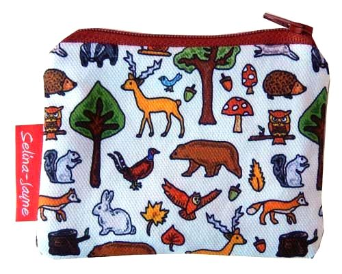 Selina-Jayne Woodland Animals Limited Edition Designer Coin Purse