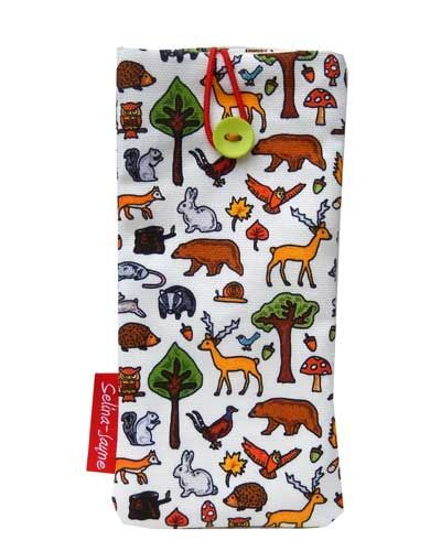 Selina-Jayne Woodland Animals Limited Edition Designer Soft Glasses Case