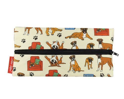 Selina-Jayne Boxer Dog Limited Edition Designer Pencil Case