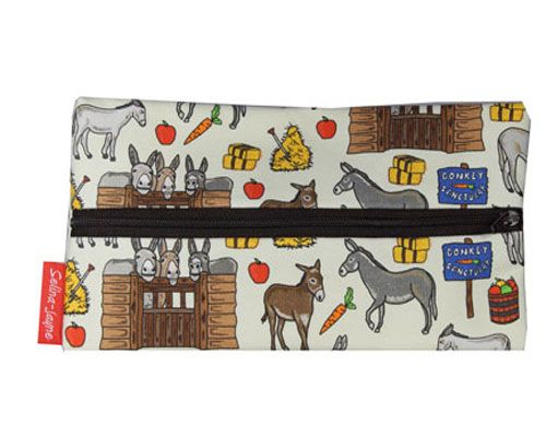 Selina-Jayne Donkey Limited Edition Designer Pencil Case