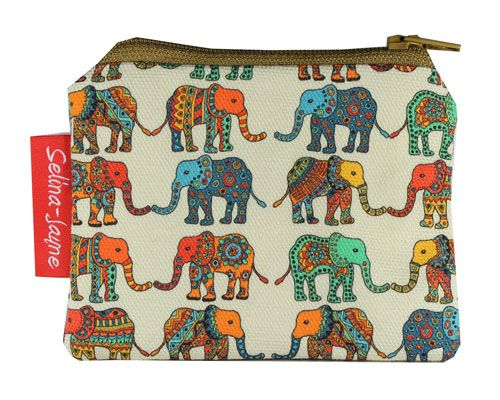 Selina-Jayne Elephants Limited Edition Designer Coin Purse