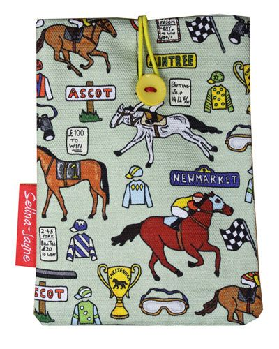 Selina-Jayne Horse Racing Limited Edition Designer Passport Holder