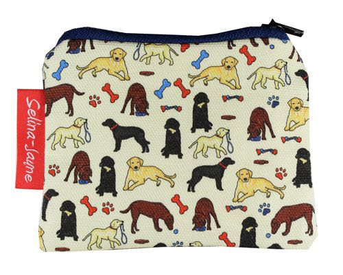 Selina-Jayne Labrador Dogs Limited Edition Designer Coin Purse