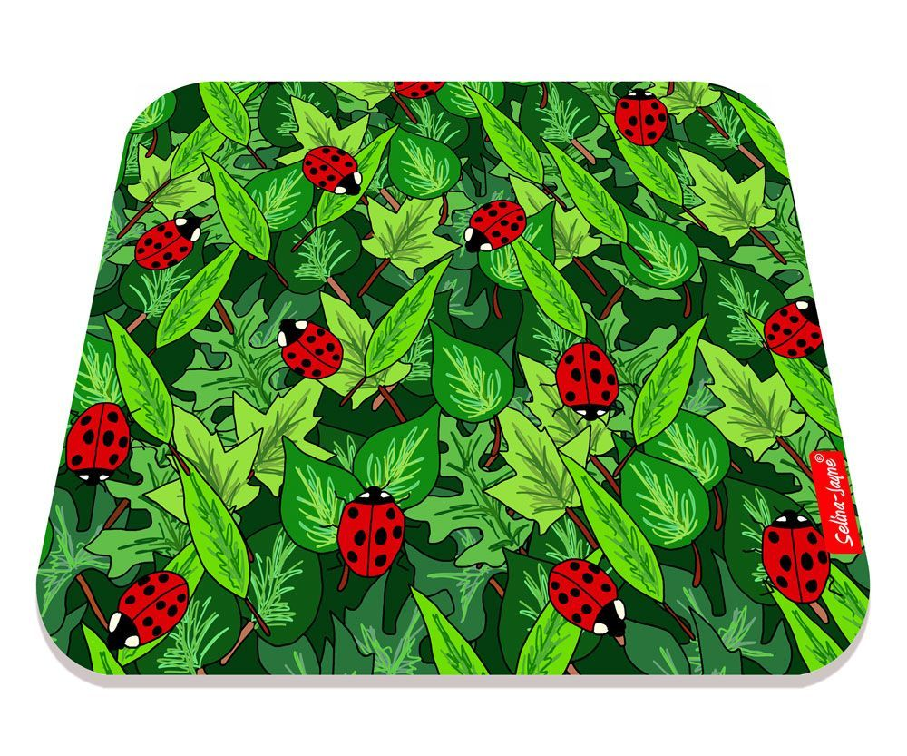 Selina-Jayne Ladybirds Limited Edition Designer Mouse Mat