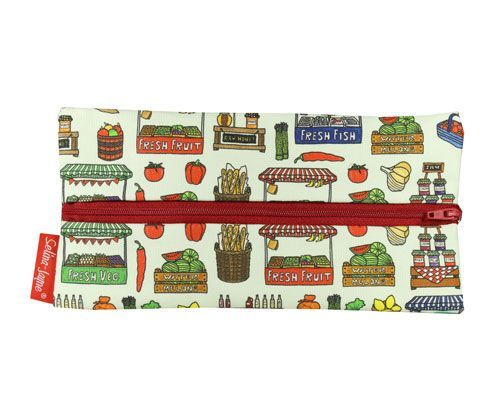 Selina-Jayne Market Day Limited Edition Designer Pencil Case