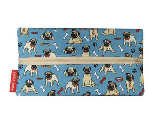 Selina-Jayne Pug Dog Limited Edition Designer Pencil Case