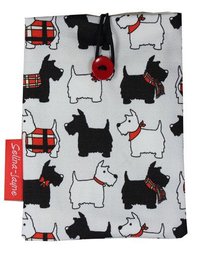 Selina-Jayne Scotty Dog Limited Edition Designer Passport Holder