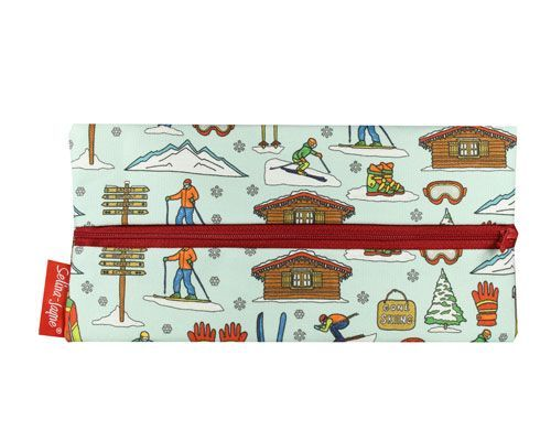 Selina-Jayne Skiing Limited Edition Designer Pencil Case