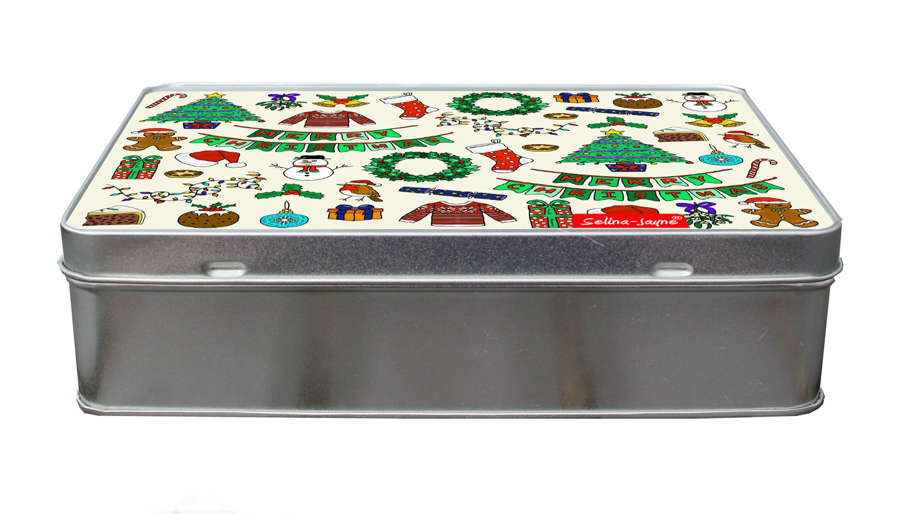 Selina-Jayne Merry Christmas Limited Edition Designer Treat Tin